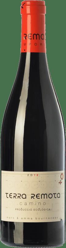 42,95 € Envío gratis | Vino tinto Terra Remota Camino Crianza D.O. Empordà Cataluña España Tempranillo, Syrah, Garnacha, Cabernet Sauvignon Botella Mágnum 1,5 L