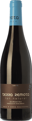 15,95 € Free Shipping | Red wine Terra Remota Tan Natural Joven D.O. Empordà Catalonia Spain Grenache Bottle 75 cl
