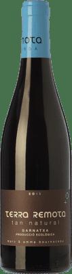 13,95 € Envío gratis | Vino tinto Terra Remota Tan Natural Joven D.O. Empordà Cataluña España Garnacha Botella 75 cl
