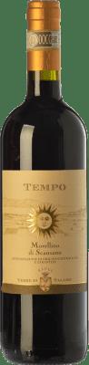 13,95 € Free Shipping | Red wine Terre di Talamo Tempo D.O.C.G. Morellino di Scansano Tuscany Italy Sangiovese Bottle 75 cl