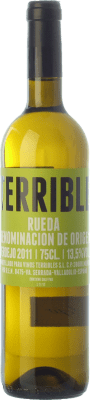 9,95 € Free Shipping | White wine Terrible D.O. Rueda Castilla y León Spain Verdejo Bottle 75 cl