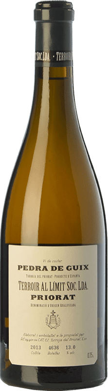 66,95 € Free Shipping | White wine Terroir al Límit Pedra de Guix Crianza D.O.Ca. Priorat Catalonia Spain Grenache White, Macabeo, Pedro Ximénez Bottle 75 cl