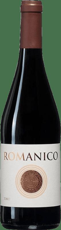 8,95 € Envío gratis | Vino tinto Teso La Monja Románico Joven D.O. Toro Castilla y León España Tinta de Toro Botella 75 cl