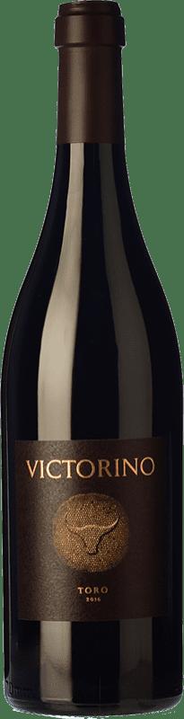 39,95 € Spedizione Gratuita | Vino rosso Teso La Monja Victorino Crianza D.O. Toro Castilla y León Spagna Tinta de Toro Bottiglia 75 cl