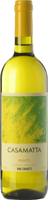 9,95 € Free Shipping   White wine Bibi Graetz Casamatta Bianco I.G.T. Toscana Tuscany Italy Trebbiano, Vermentino, Muscatel White Bottle 75 cl