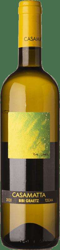 17,95 € Free Shipping   White wine Bibi Graetz Casamatta Bianco I.G.T. Toscana Tuscany Italy Trebbiano, Vermentino, Muscat White Bottle 75 cl