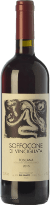 28,95 € Envoi gratuit   Vin rouge Bibi Graetz Soffocone di Vincigliata I.G.T. Toscana Toscane Italie Sangiovese, Colorino, Canaiolo Bouteille 75 cl