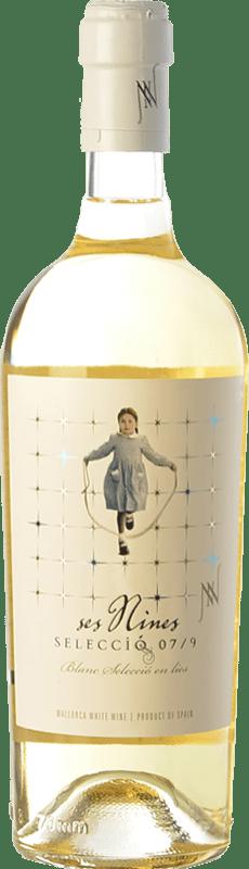 14,95 € Envoi gratuit   Vin blanc Tianna Negre Ses Nines Blanc Selecció 07/9 Crianza D.O. Binissalem Îles Baléares Espagne Chardonnay, Muscat Petit Grain, Premsal Bouteille 75 cl