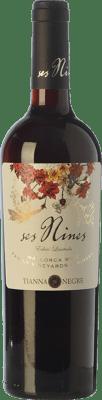 9,95 € Free Shipping | Red wine Tianna Negre Ses Nines Edició Limitada Joven D.O. Binissalem Balearic Islands Spain Merlot, Syrah, Cabernet Sauvignon, Callet, Mantonegro Bottle 75 cl