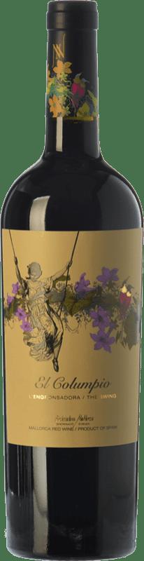 11,95 € Free Shipping | Red wine Tianna Negre Ses Nines El Columpio Joven D.O. Binissalem Balearic Islands Spain Merlot, Syrah, Cabernet Sauvignon, Callet, Mantonegro Bottle 75 cl