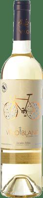 14,95 € Kostenloser Versand | Weißwein Tianna Negre Ses Nines Vélo Blanc Ecològic D.O. Binissalem Balearen Spanien Mantonegro, Premsal Flasche 75 cl