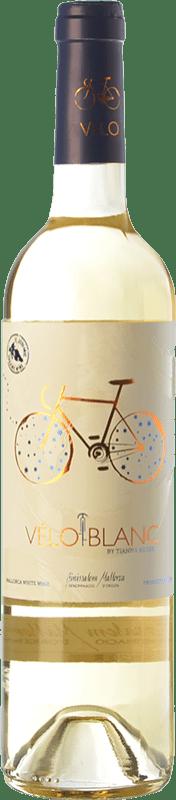 14,95 € Free Shipping | White wine Tianna Negre Ses Nines Vélo Blanc Ecològic D.O. Binissalem Balearic Islands Spain Mantonegro, Premsal Bottle 75 cl