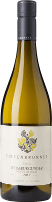 15,95 € Free Shipping | White wine Tiefenbrunner Pinot Bianco D.O.C. Alto Adige Trentino-Alto Adige Italy Pinot White Bottle 75 cl