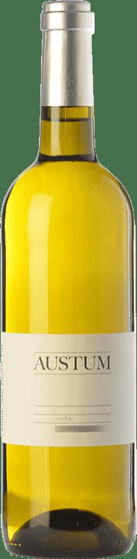 8,95 € Envoi gratuit | Vin blanc Tionio Austum D.O. Rueda Castille et Leon Espagne Verdejo Bouteille 75 cl