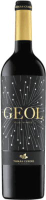 21,95 € Free Shipping | Red wine Tomàs Cusiné Geol Joven D.O. Costers del Segre Catalonia Spain Merlot, Cabernet Sauvignon, Carignan Bottle 75 cl