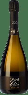 24,95 € Envoi gratuit | Blanc moussant Torelló 225 Brut Nature Gran Reserva D.O. Cava Catalogne Espagne Macabeo, Xarel·lo, Parellada Bouteille 75 cl