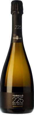 19,95 € Free Shipping | White sparkling Torelló 225 Brut Nature Gran Reserva D.O. Cava Catalonia Spain Macabeo, Xarel·lo, Parellada Bottle 75 cl. | Thousands of wine lovers trust us to get the best price guarantee, free shipping always and hassle-free shopping and returns.