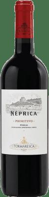 7,95 € Kostenloser Versand   Rotwein Tormaresca Neprica I.G.T. Puglia Apulien Italien Cabernet Sauvignon, Primitivo, Negroamaro Flasche 75 cl
