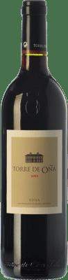13,95 € Kostenloser Versand | Rotwein Torre de Oña Reserva D.O.Ca. Rioja La Rioja Spanien Tempranillo, Mazuelo Flasche 75 cl