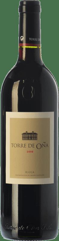 13,95 € Envío gratis | Vino tinto Torre de Oña Reserva D.O.Ca. Rioja La Rioja España Tempranillo, Mazuelo Botella 75 cl