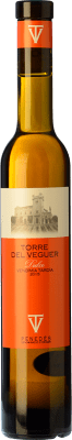 21,95 € Free Shipping | Sweet wine Torre del Veguer Vendimia Tardía D.O. Penedès Catalonia Spain Muscatel Small Grain Half Bottle 37 cl