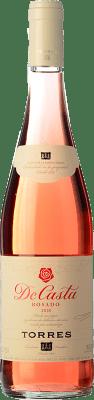 6,95 € Free Shipping | Rosé wine Torres De Casta Joven D.O. Catalunya Catalonia Spain Grenache, Carignan Bottle 75 cl