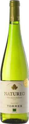 9,95 € Free Shipping | White wine Torres Natureo D.O. Penedès Catalonia Spain Muscat of Alexandria Bottle 75 cl