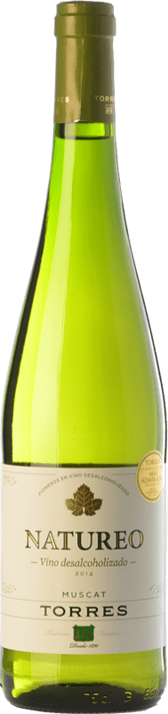 9,95 € Free Shipping | White wine Torres Natureo D.O. Penedès Catalonia Spain Muscat of Alexandria Bottle 75 cl