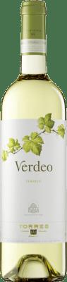 8,95 € Free Shipping | White wine Torres Verdeo D.O. Rueda Castilla y León Spain Verdejo Bottle 75 cl
