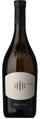 31,95 € Free Shipping | White wine Tramin Stoan D.O.C. Alto Adige Trentino-Alto Adige Italy Chardonnay, Gewürztraminer, Pinot White, Sauvignon Bottle 75 cl