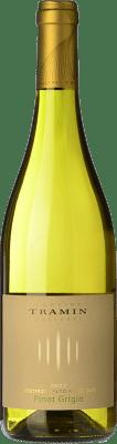 13,95 € Free Shipping | White wine Tramin Pinot Grigio D.O.C. Alto Adige Trentino-Alto Adige Italy Pinot Grey Bottle 75 cl