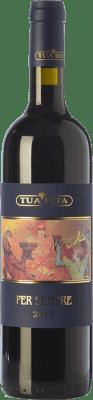 189,95 € Free Shipping | Red wine Tua Rita Per Sempre I.G.T. Toscana Tuscany Italy Syrah Bottle 75 cl