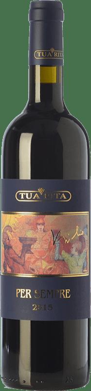 184,95 € Envoi gratuit | Vin rouge Tua Rita Per Sempre I.G.T. Toscana Toscane Italie Syrah Bouteille 75 cl