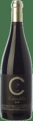 17,95 € Envío gratis | Vino tinto Uribes Madero Calzadilla Allegro Crianza I.G.P. Vino de la Tierra de Castilla Castilla la Mancha España Syrah Botella 75 cl