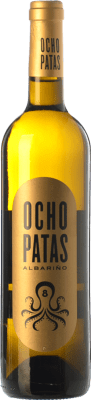 28,95 € Envío gratis   Vino blanco Uvas de Cuvée Ocho Patas D.O. Rías Baixas Galicia España Albariño Botella Mágnum 1,5 L