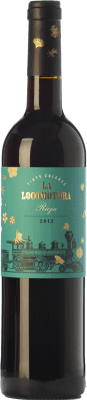 12,95 € Free Shipping | Red wine Uvas Felices La Locomotora Crianza D.O.Ca. Rioja The Rioja Spain Tempranillo Bottle 75 cl