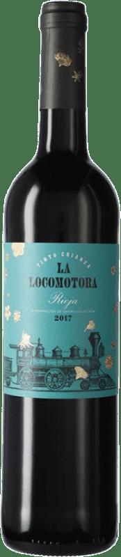 11,95 € Free Shipping | Red wine Uvas Felices La Locomotora Crianza D.O.Ca. Rioja The Rioja Spain Tempranillo Bottle 75 cl