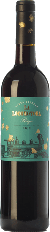 9,95 € Envoi gratuit | Vin rouge Uvas Felices La Locomotora Crianza D.O.Ca. Rioja La Rioja Espagne Tempranillo Bouteille 75 cl