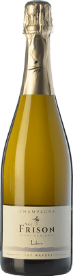 55,95 € Free Shipping | White sparkling Val Frison Cuvée Lalore Blanc de Blancs Brut Nature A.O.C. Champagne Champagne France Chardonnay Bottle 75 cl. | Thousands of wine lovers trust us to get the best price guarantee, free shipping always and hassle-free shopping and returns.