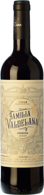 8,95 € Free Shipping | Red wine Valdelana Joven D.O.Ca. Rioja The Rioja Spain Tempranillo, Viura Bottle 75 cl