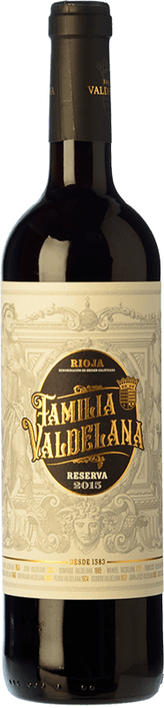 13,95 € Free Shipping | Red wine Valdelana Reserva D.O.Ca. Rioja The Rioja Spain Tempranillo, Graciano Bottle 75 cl