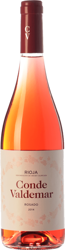 6,95 € Free Shipping | Rosé wine Valdemar Conde de Valdemar Joven D.O.Ca. Rioja The Rioja Spain Tempranillo, Grenache Bottle 75 cl