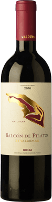 21,95 € Free Shipping | Red wine Valdemar Inspiración Maturana Crianza D.O.Ca. Rioja The Rioja Spain Maturana Tinta Bottle 75 cl