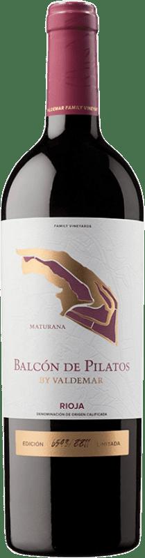 22,95 € Envío gratis | Vino tinto Valdemar Inspiración Maturana Crianza D.O.Ca. Rioja La Rioja España Maturana Tinta Botella 75 cl