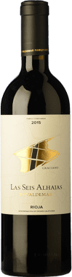 16,95 € Free Shipping | Red wine Valdemar Inspiración Las Seis Alhajas Reserva D.O.Ca. Rioja The Rioja Spain Graciano Bottle 75 cl