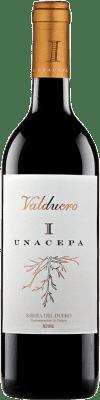 32,95 € Free Shipping | Red wine Valduero Una Cepa Reserva D.O. Ribera del Duero Castilla y León Spain Tempranillo Bottle 75 cl