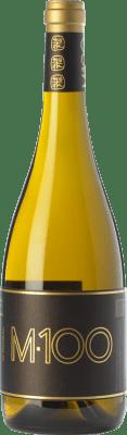 31,95 € Free Shipping | White wine Valmiñor Davila M100 Crianza D.O. Rías Baixas Galicia Spain Loureiro, Albariño, Caíño White Bottle 75 cl