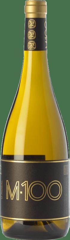 28,95 € Free Shipping | White wine Valmiñor Davila M100 Crianza D.O. Rías Baixas Galicia Spain Loureiro, Albariño, Caíño White Bottle 75 cl