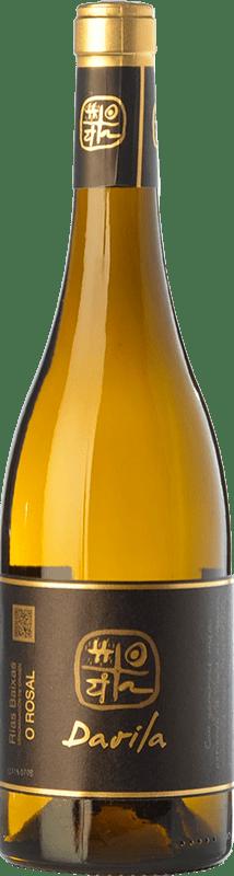 16,95 € Free Shipping | White wine Valmiñor Davila O Rosal D.O. Rías Baixas Galicia Spain Loureiro, Treixadura, Albariño Bottle 75 cl
