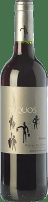 7,95 € Free Shipping | Red wine Vaquos Cosecha Joven D.O. Ribera del Duero Castilla y León Spain Tempranillo Bottle 75 cl